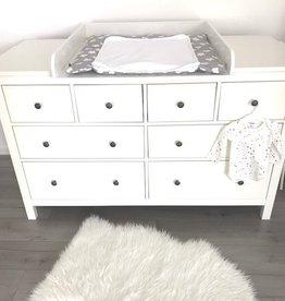 """Wickelaufsatz """"Rund"""" mit extrabreiter Blende  für IKEA Hemnes 160 cm"""
