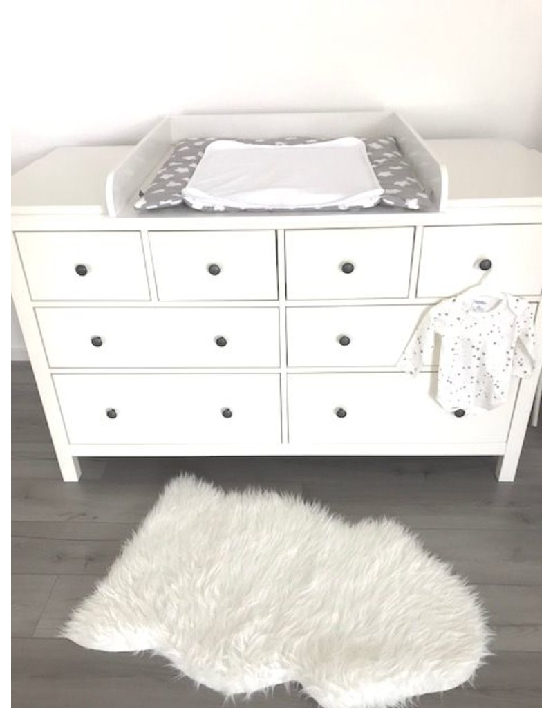 wickelaufsatz rund mit extrabreiter blende f r ikea hemnes 160 cm puckdaddy. Black Bedroom Furniture Sets. Home Design Ideas
