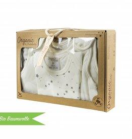 "Organic Coton Sleepingbox ""Stars grey"""