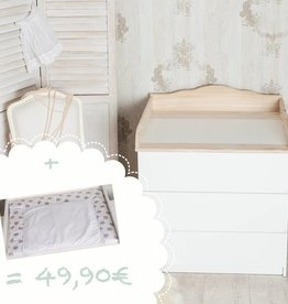 puckdaddy wickelaufs tze f r ikea malm puckdaddy die kinderm bel manufaktur. Black Bedroom Furniture Sets. Home Design Ideas