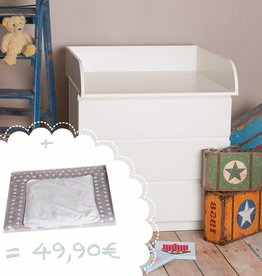 puckdaddy wickelaufs tze f r ikea malm puckdaddy die kinderm bel manufaktur. Black Bedroom Furniture Sets. Home Design Ideas