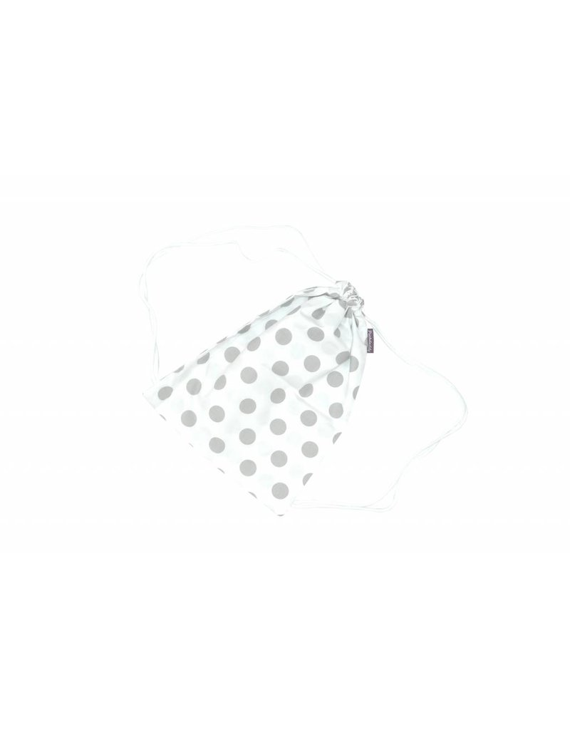 "Drawstring Bag ""Dots White"""