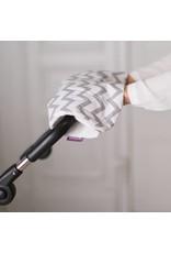 """Hand Muff """"Chevron"""" for Pram/ Stroller"""