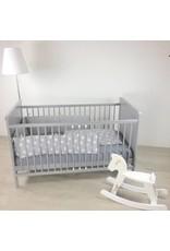 Sample Baby Cot Bed grey
