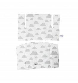 sticker wei e wolken augen gro 3er set puckdaddy. Black Bedroom Furniture Sets. Home Design Ideas
