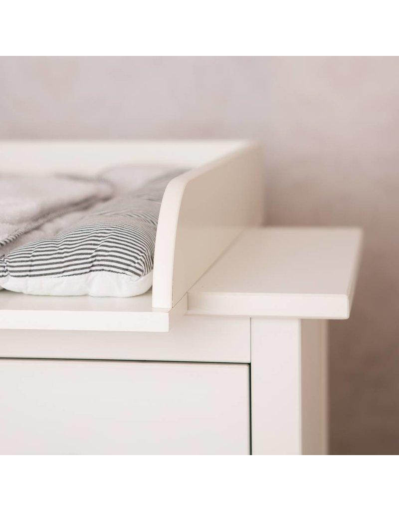 Sample Extra Bords arrondis H! Plan à langer pour tous les commodes IKEA Hemnes/ Songesand