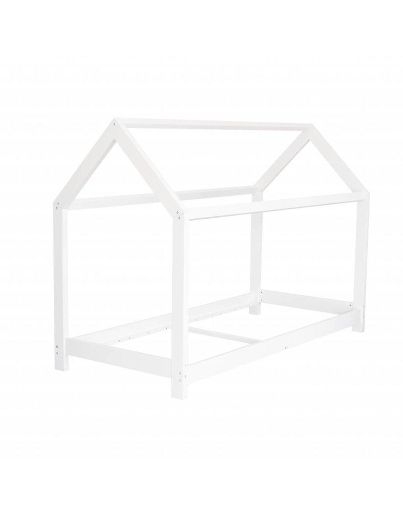 Lit maison pour enfants 90x200 cm