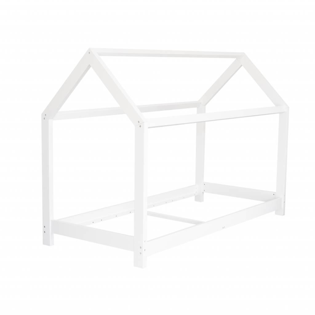 Hausbett für Kinder 90x200 cm