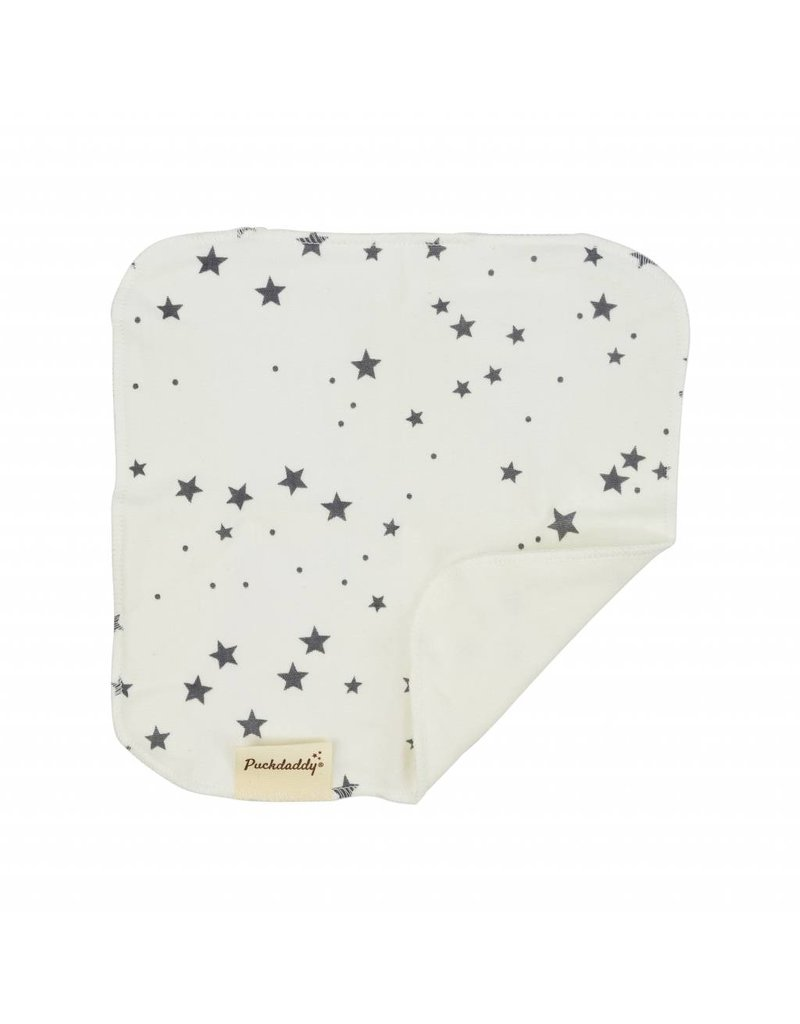 "Organic Cotton Wgift set ""Stars grey"""
