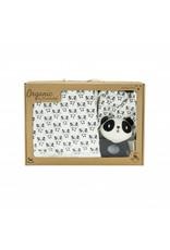 """Bio Baumwolle Geschenkset """"Panda"""""""