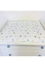 """stars grey/ blue"" changing mat"