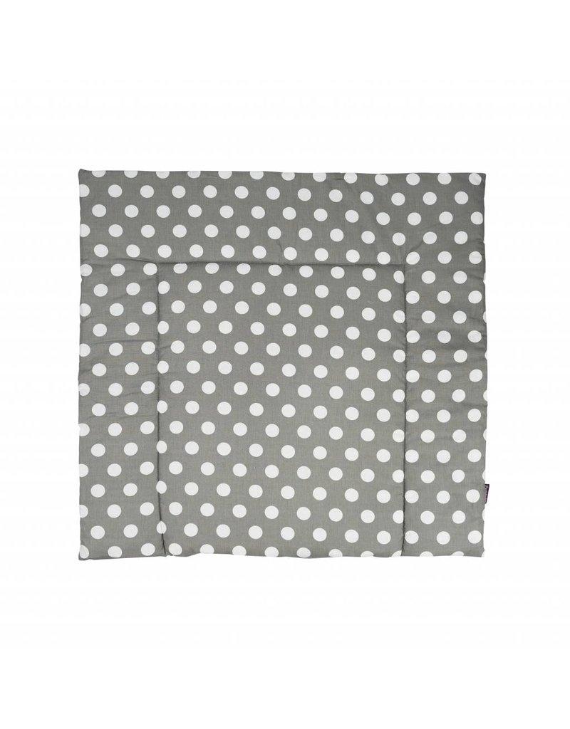 """stars grey/ big dots"" changing mat"
