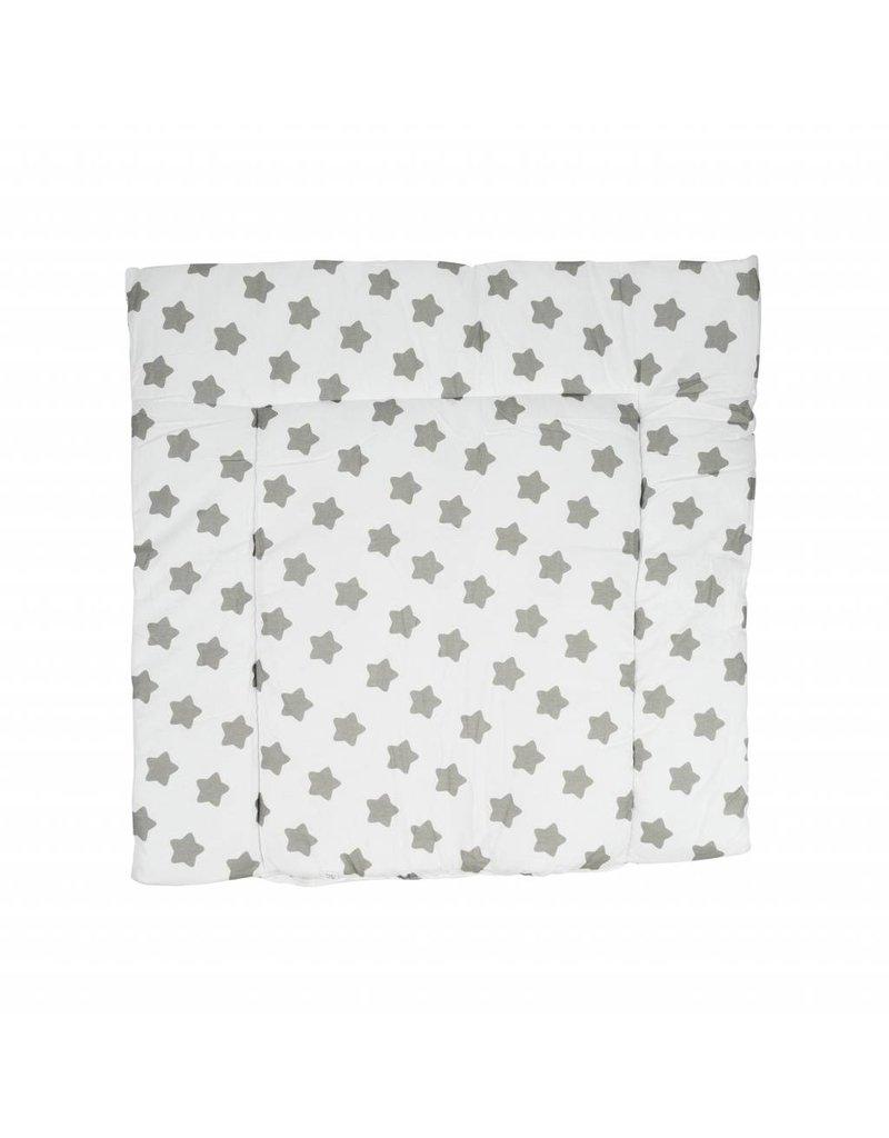 """little dots white/ stars"" changing mat"