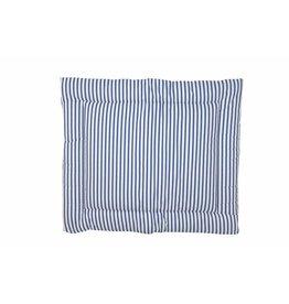 "Changing mat ""blue stripes"""