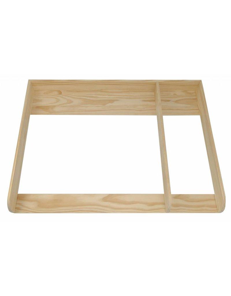 """""""XXL-H+"""" bois naturel et séparation! Plan à langer pour tous les commodes IKEA Hemnest"""