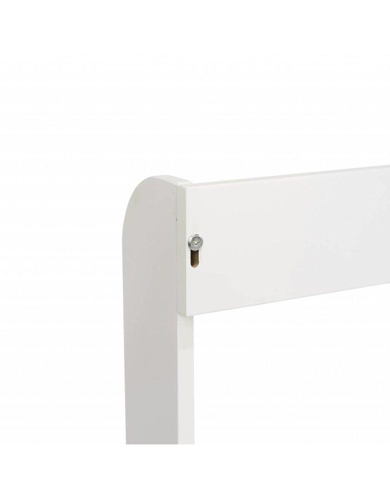 """Plan a langer (top) """"Rond"""" avec bande  extra large pour la commode Hemnes  d'IKEA 160cm  en blanc"""