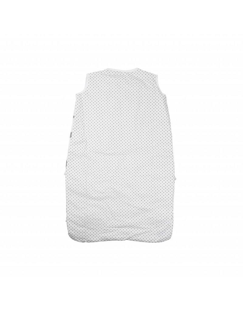"""Bed Linen """"stars white"""" + Baby sleeping bag """"stars white"""" 70-90 cm"""