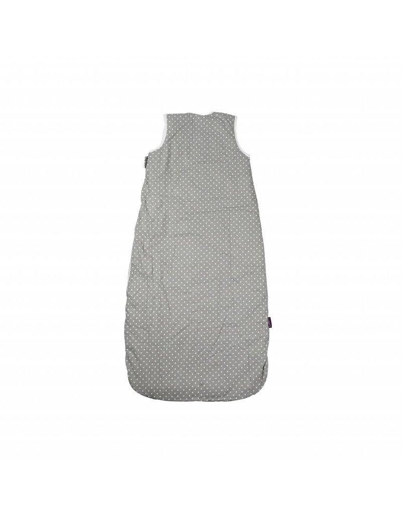 "Bed Linen ""stars grey"" + Baby sleeping bag ""stars grey"" 70-90 cm"