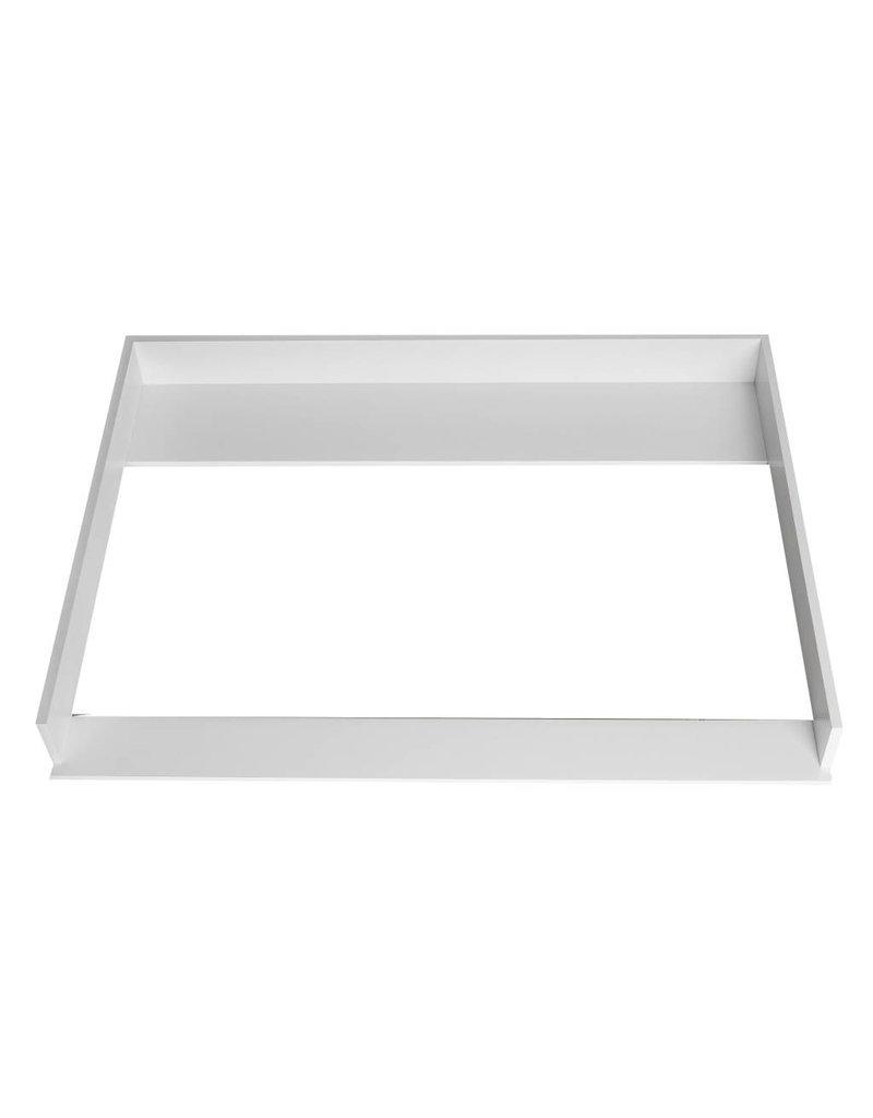 """Wickelaufsatz """"XXL"""" - Extrabreit für IKEA Hemnes in weiß"""