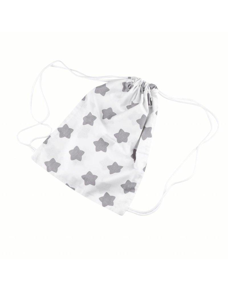 """""""Étoiles - blanc"""": Moufles de poussette, Pochette de change, Sac d'activités"""