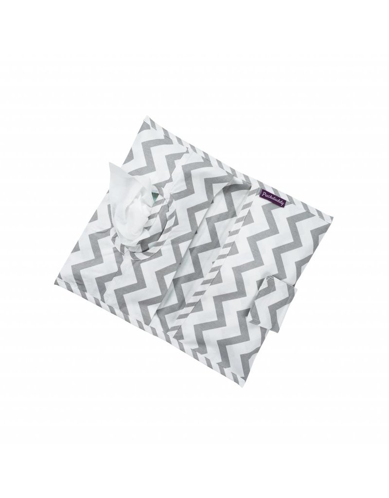 """Chevron"": Hand Muff Stroller, Nappy Pouch, Gymsac"