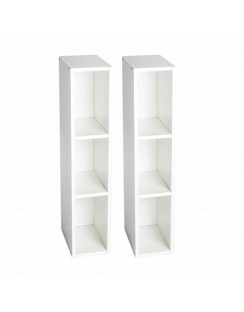 Étagère de rangement pour derrière la commode Hemnes de IKEA 2x