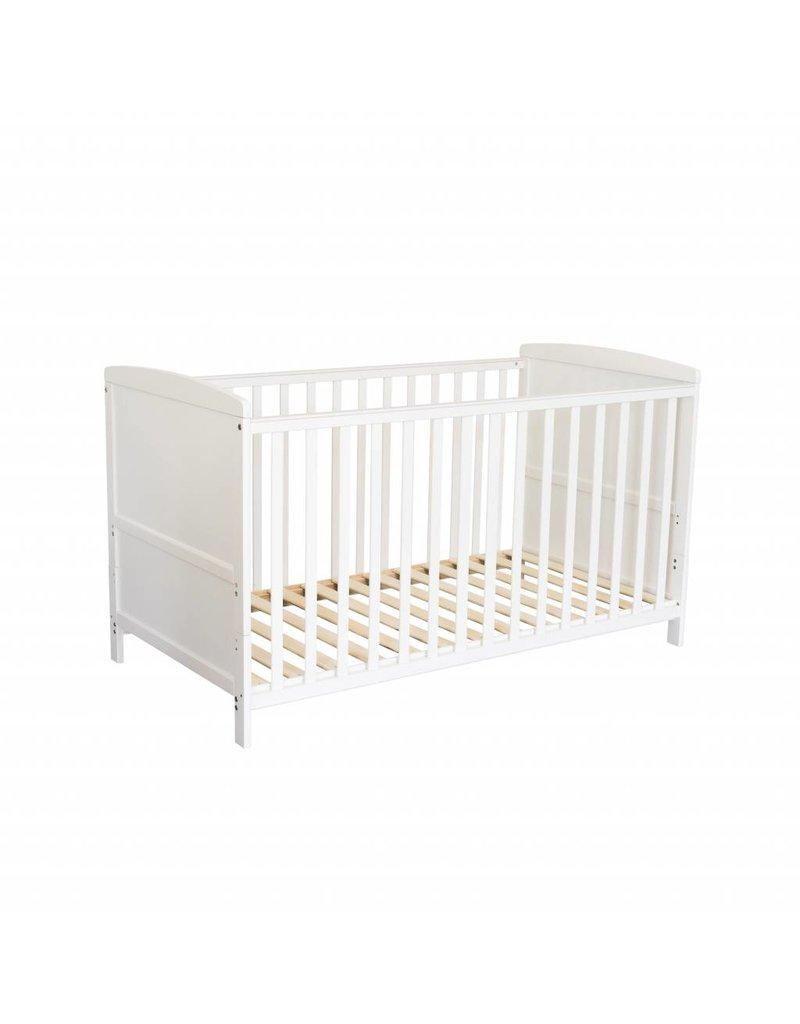 """Babybett """"weiß"""", auch zum Kinderbett umbaubar"""