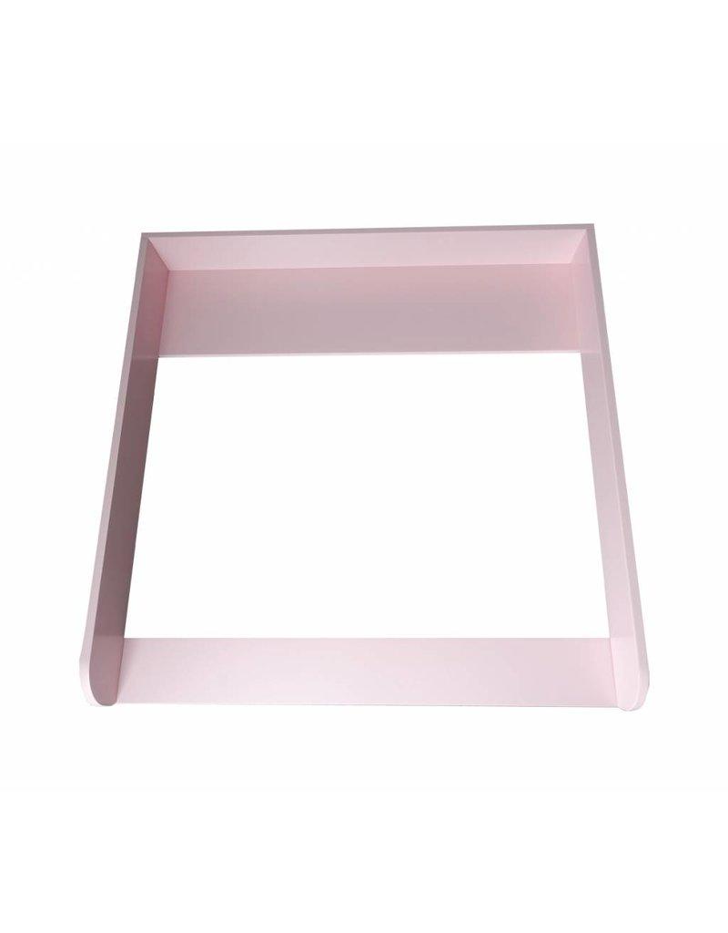 Bords arrondis en rose! Plan à langer pour commodes IKEA Malm