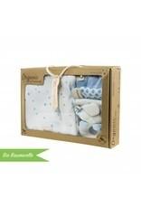 """Standard Extraround"" - for IKEA Malm + gift set ""Stars light blue"""