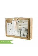 """Standard Extraround"" - for IKEA Malm + Organic Cotton gift set ""Stars grey"""