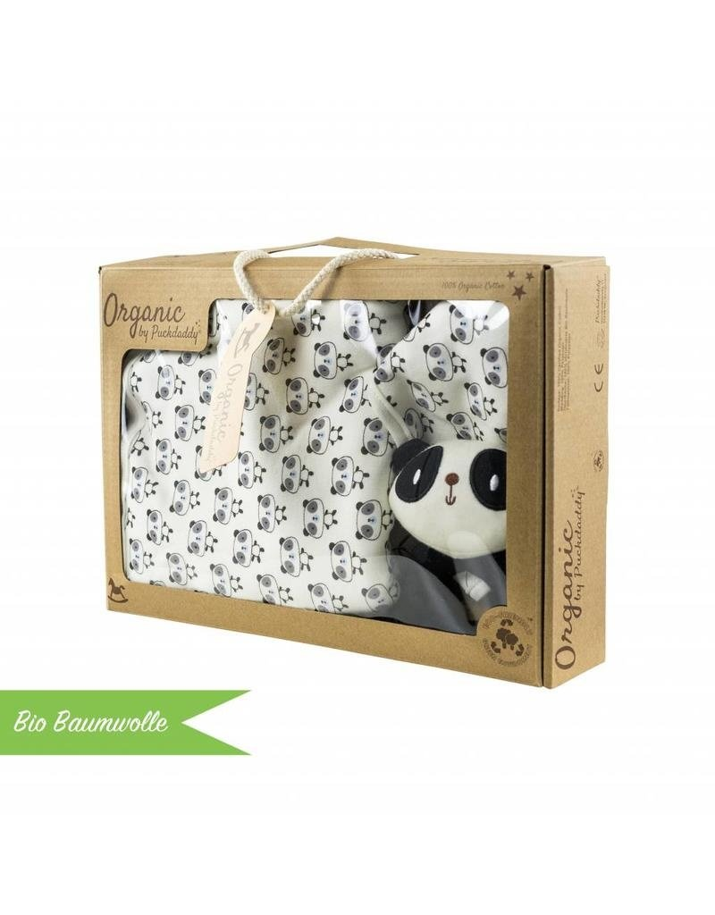 """Bords arrondis - Plan à langer pour commodes IKEA Malm + Coffret Bio Bébé  """"Panda"""""""