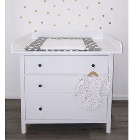 """Wickelaufsatz """"Wolke XXL"""" für IKEA Hemnes in weiß"""