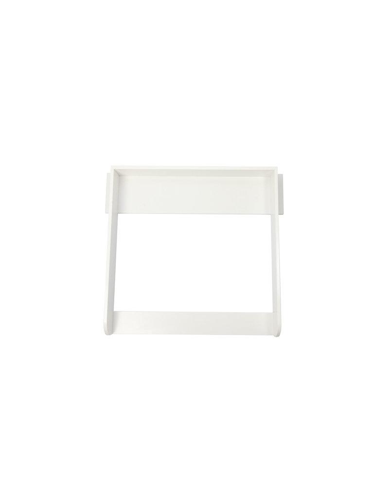 """Wickelaufsatz """"Rund"""" mit Blende in Weiß  - für IKEA Koppang"""