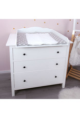 """Standard Cloud 7 ""Round""  with wide cover for IKEA Hemnes dresser 108 cm"