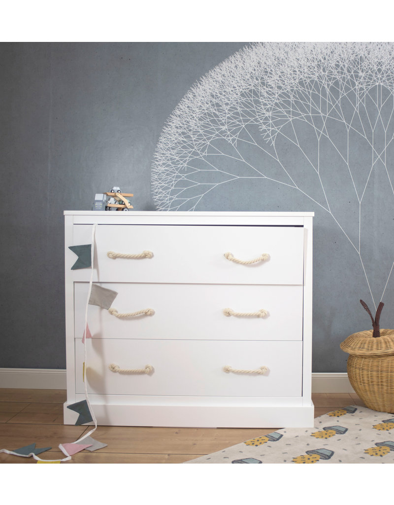 Chest of drawers Carlotta, 116x99x51 cm