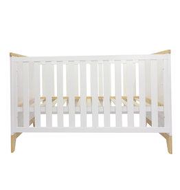 Puckdaddy Lit bébé Ida, blanc, 140x70 cm