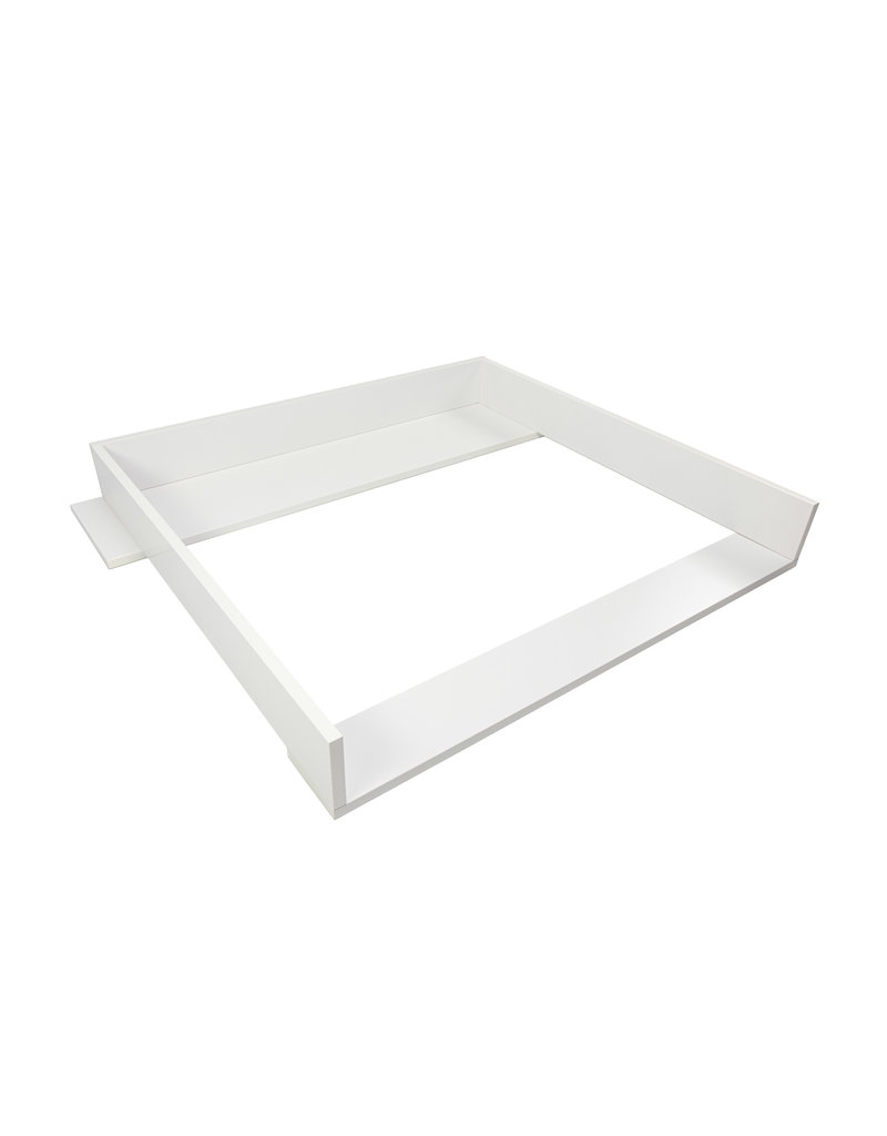 Puckdaddy Changing topper Knut with wide cover, white for IKEA Koppang