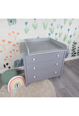 """""""Standard Extraround - grey"""" with wide cover for IKEA Hemnes"""