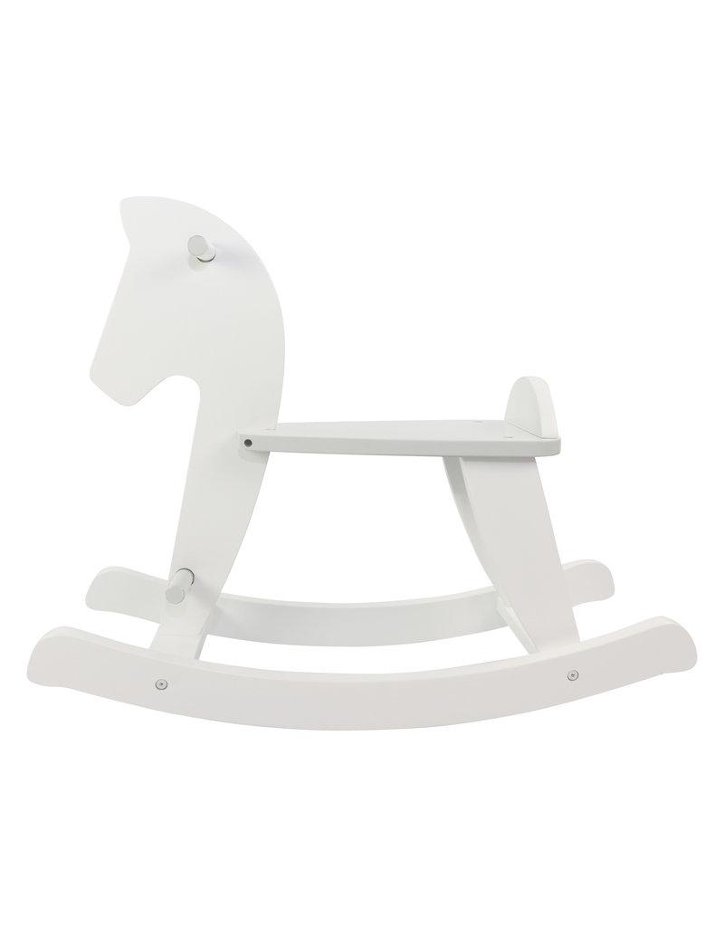 """Rocking horse """"Hühott"""" white"""
