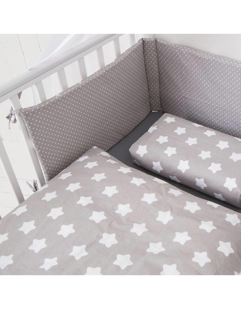 Bedding Set Quot Stars Dots Grey Quot Buy Online At Puckdaddy