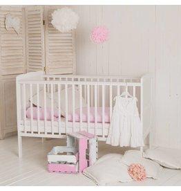 "Babybett ""Wolke"", weiß,  auch zum Kinderbett umbaubar"