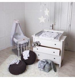 Plan a langer (top) pour tous Ikea Hemnes/ Songesand  commodes (blanc)