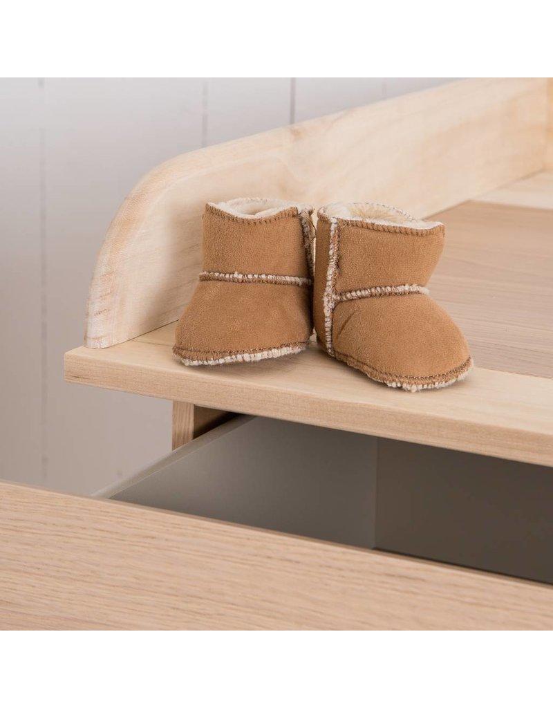 "Wickelaufsatz ""Naturholz"" für IKEA Malm Kommode"