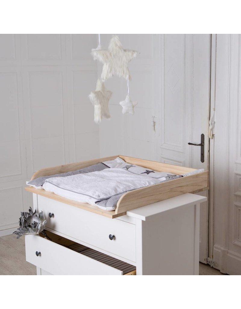 """Wickelaufsatz """"Naturholz"""" für IKEA Hemnes/ Songesand"""