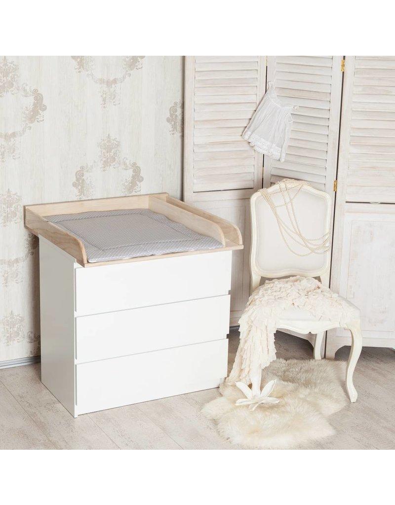 """Wickelaufsatz """"Holz + Trennfach"""" für IKEA Malm Kommode"""