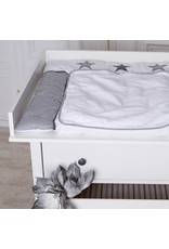 Plan à langer XXL pour IKEA Hemnes en blanc