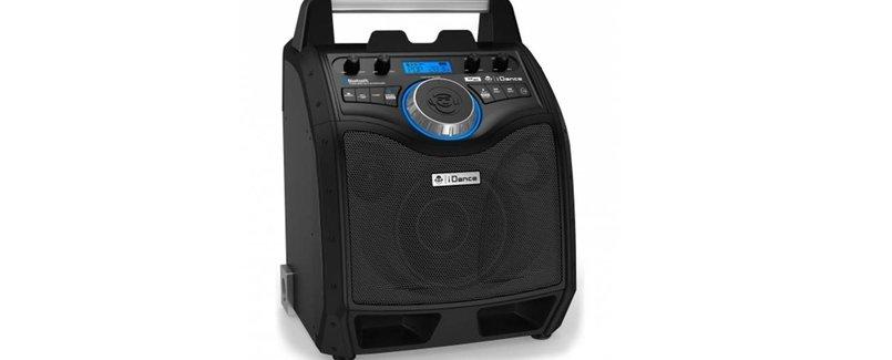 iDance - XD100 MKII draagbare Bluetooth speaker zwart