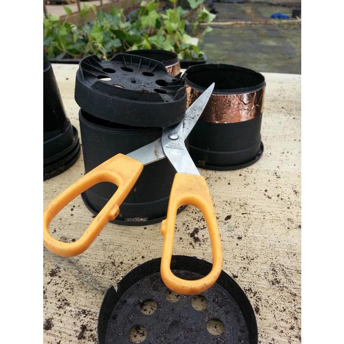 Anti Slakken Tape, zorgt voor slak vrije bloempotten!