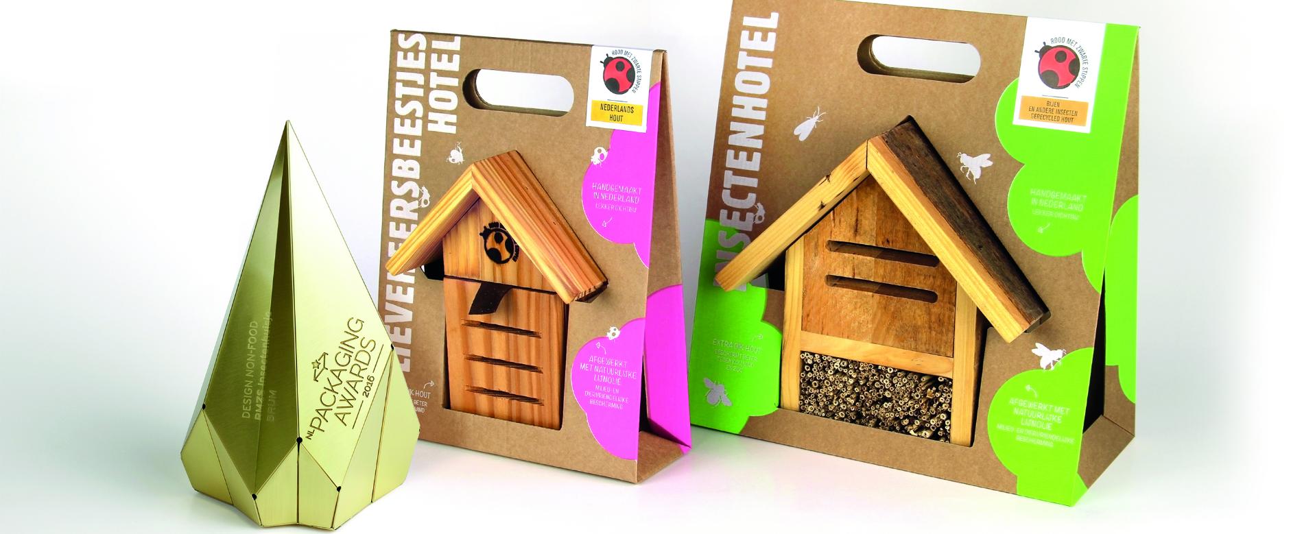 verpakking insectenhotels