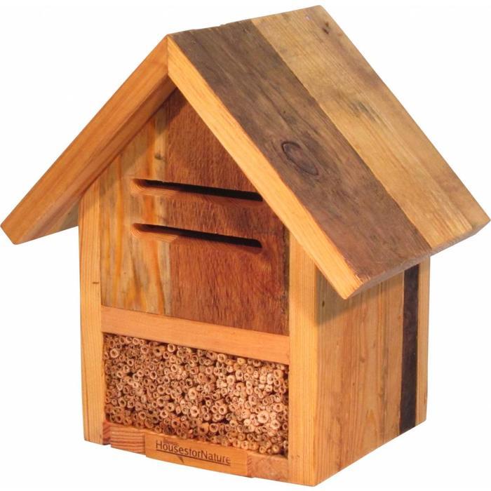 Insectenhotel lieveheersbeestjes en wilde bijen